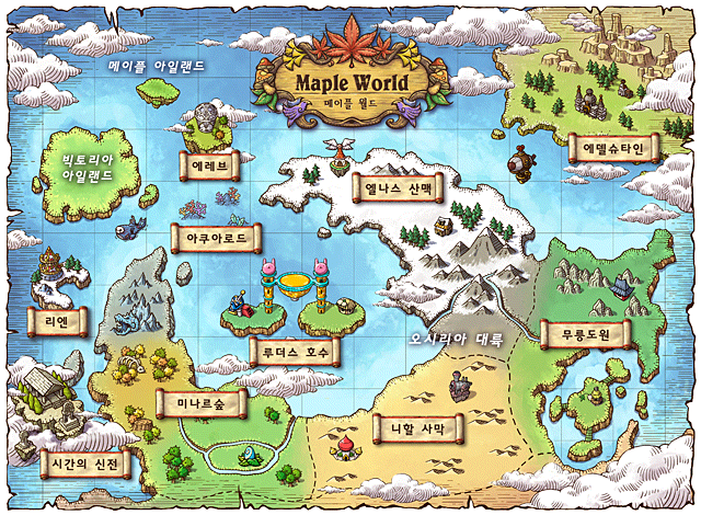 -Edelstein @ World Map-. -Map of Edelstein and Leben Mine-